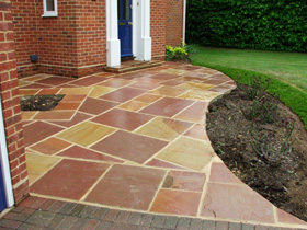garden patio - Colchester, Essex, Suffolk - All Green Landscapes - garden patio